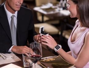 Oświadczyny w restauracji
